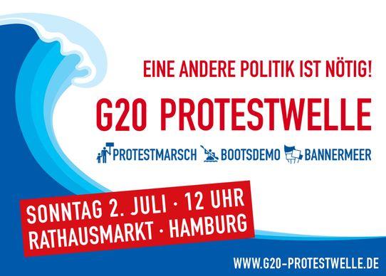 Bild zur Veranstaltung G20 Protestwelle: Thüringen-Bus